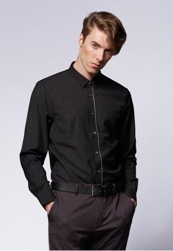 Life8 black Formal Fashion Shirts-11103-Black LI283AA0FFFYSG_1