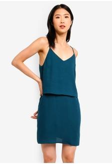 8189a355d9b Basic Double Cami Strappy Dress 8E9AFAAF54B674GS 1