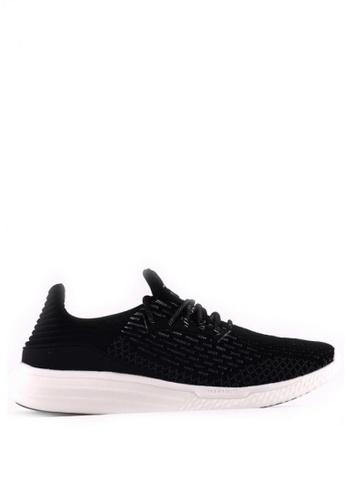 World Balance black Urban Flex MS Sneakers 343F5SH24F891CGS_1