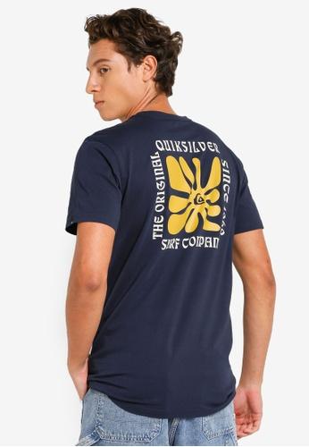 Quiksilver blue Endless Nights T-Shirt 58106AA26AC092GS_1