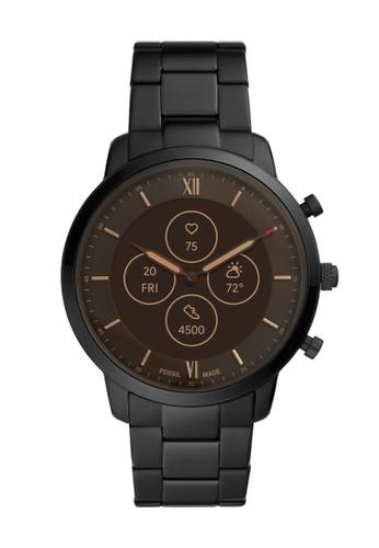Fossil black Neutra Hybrid HR Smartwatch FTW7027 52F77AC23B1FB8GS_1
