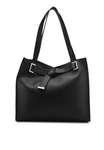 Dorothy Perkins black Black Knot Body Shopper DO816AC0SKSKMY_1