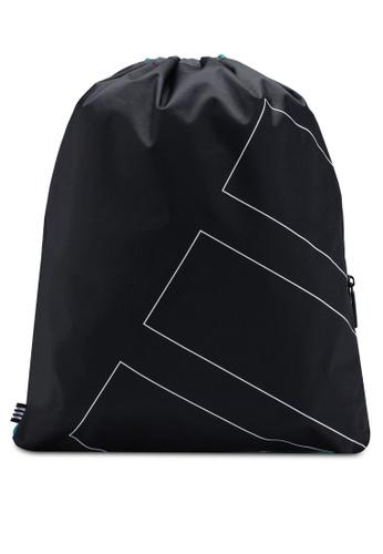 adidas black adidas originals gymsack eqt adv EF205AC002B781GS_1