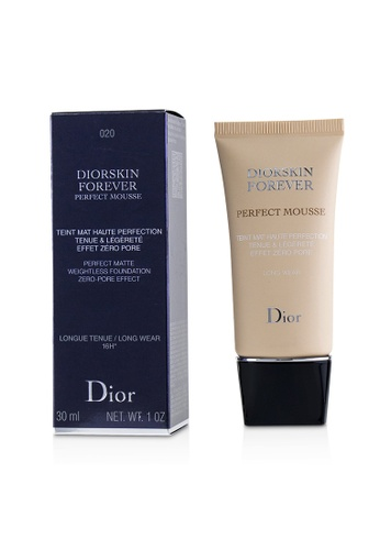 christian dior CHRISTIAN DIOR - Diorskin Forever Perfect Mousse Foundation - # 020 Light Beige 30ml/1oz E3672BE31F47A1GS_1