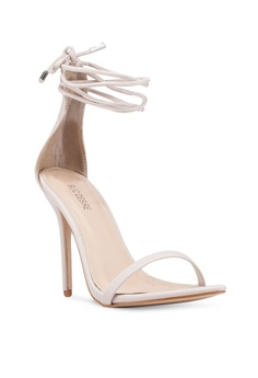 2a608519fb4 45% OFF Public Desire Naughty Point Toe Barely There Heels S  61.90 NOW S   33.90 Sizes 8