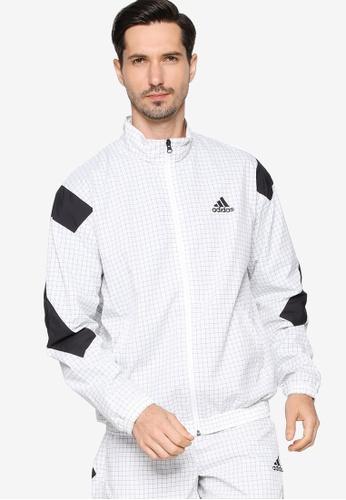 ADIDAS 白色 sportswear primeblue track top C0D3AAAFBC91B9GS_1