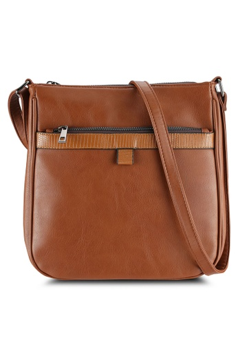 Call It Spring brown Sonora Messenger Bag CA512AC0RLKMMY_1