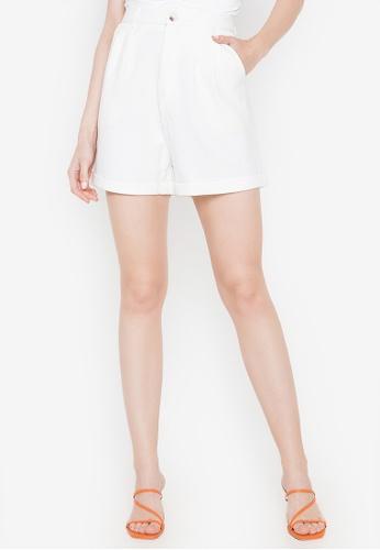 Spring Fling white Dress Shorts 52FC3AA0FBF743GS_1