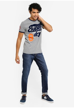 df54351a4 41% OFF Superdry Pitch Field Ringer Tee S$ 69.00 NOW S$ 40.90 Available in  several sizes
