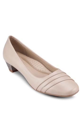 飾帶中跟鞋, esprit台灣門市女鞋, 鞋