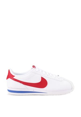 Nike white Cortez Basic Sneakers 40A25SH795D717GS_1