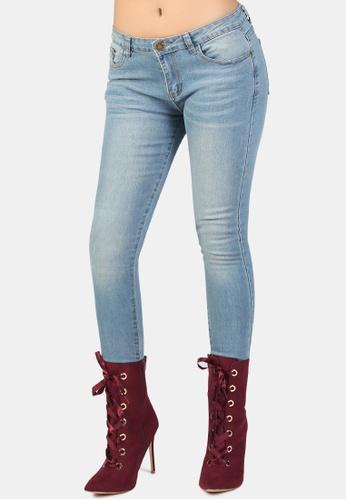 London Rag blue Low Rise Skinny Jeans 18ED8AA7E3F9F7GS_1
