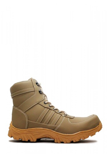 Cut Engineer grey Cut Engineer Carbon Safety Boots Apple Iron Leather Gray CU226SH07GKAID_1