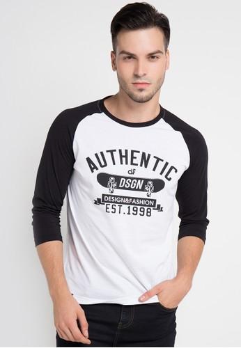 D&F white T-Shirt Authentic Dsgn DF100AA0V1U5ID_1