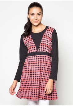 Polka Dot Empire Line Top