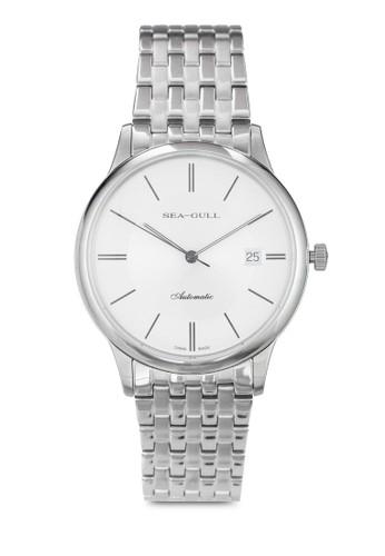 Seagull 816.esprit台灣網頁364(ST2130 機械機芯) 39mm 極簡不銹鋼圓錶, 錶類, 飾品配件