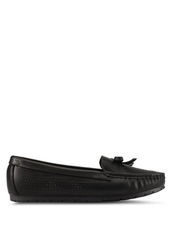 Noveni black Comfort Loafers NO978SH0S9R2MY_1