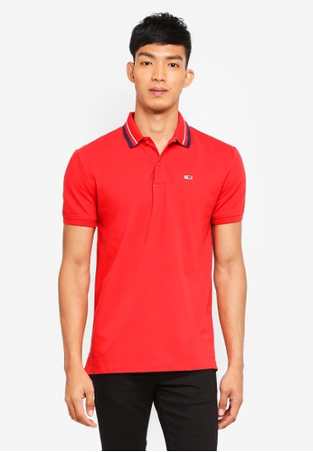 Tommy Hilfiger pink TJM TOMMY CLASSICS POLO FC823AA6BFE9BCGS_1