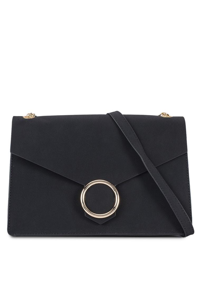 Round Buckle Chain Bag