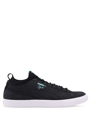 Puma Select black Puma X Diamond Clyde Sock Lo Sneakers 903ABSH662184AGS_1
