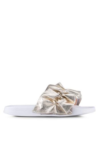 Rubi gold Wild Slide Sandals RU506SH0SKU2MY_1