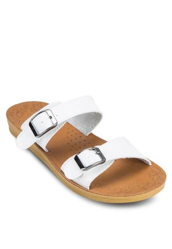 雙扣環esprit專櫃帶涼鞋, 女鞋, 涼鞋