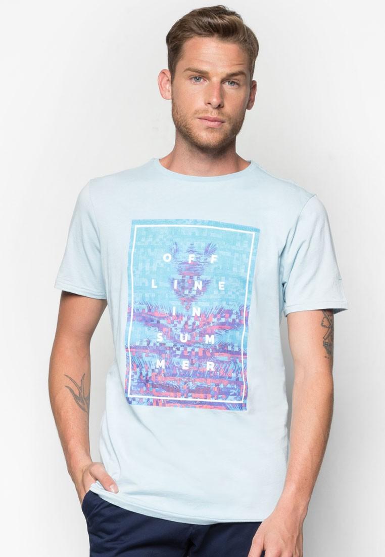 Text Cotton T-Shirt