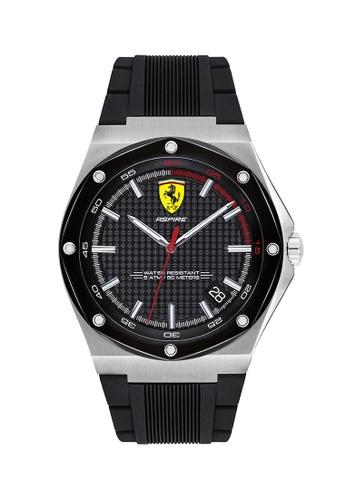 Scuderia Ferrari black Scuderia Ferrari Aspire Black Men's Watch (0830529) 8AF92ACB5C892EGS_1