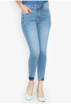 c9e6fa38 Wrangler blue Retro Caitlyn High Waist Ankle Skinny Jeans C2301AA1D7A0D0GS_1