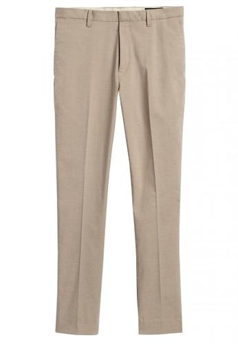 Banana Republic brown Slim Tapered Core Temp Non-Iron Dress Pant 58F7EAA4758CC3GS_1