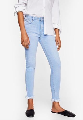 Mango blue Crop Skinny Isa Jeans EBCD0AAA274B97GS_1