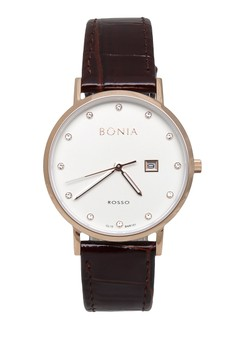 harga Bonia BNR 101-2517 Jam Tangan Wanita - Rosegold White Zalora.co.id