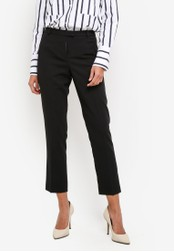 Miss Selfridge black Black Crepe Cigarette Trousers MI665AA0RXAAMY_1