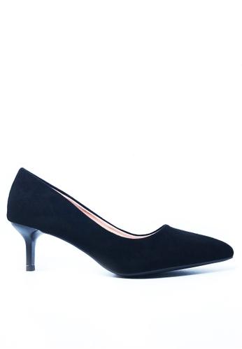 Twenty Eight Shoes black 5CM Pointy Pumps a555 90DBBSH251F5B1GS_1