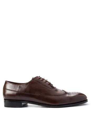 Antonio Manila brown Luke Formal Shoes AN569SH0JD8EPH_1