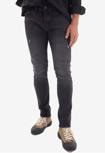 Trendyol black Black Skinny Jeans A06CDAA62379BCGS_1