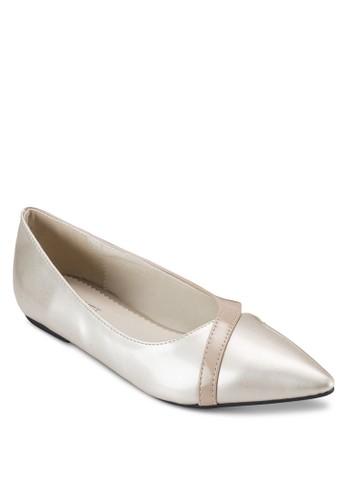 CELIA 鏤空尖頭平底鞋, 女鞋, 芭蕾平esprit 折扣底鞋