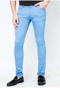 Skinny Cont Pocket Tiger Pants