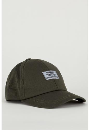 DeFacto green Man Hat 7EBA1AC160DFE1GS_1