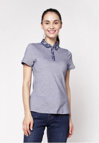 Eighteen Plus blue Slim Polo Shirt 07187AAE918E16GS_1