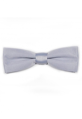 Tieline silver Tieline Silver Slim Bow Tie TI886AC73UPAPH_1
