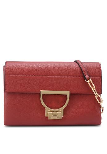 Coccinelle red Arlettis Clutch Crossbody Bag 74030AC2FDD44FGS_1