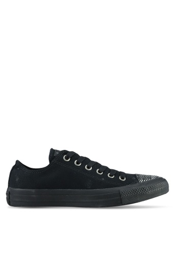 Converse black Chuck Taylor All Star Dainty Sneakers CO302SH0RZNYMY_1