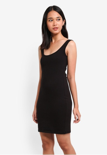 Supre black Thick Strap Tank Dress 8C96EAA54667C4GS_1