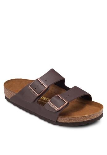 Arizonzalora 折扣碼a 扣環雙帶平底拖鞋, 女鞋, 涼鞋及拖鞋