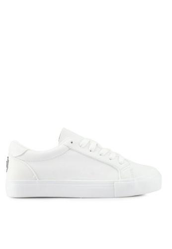 Twenty Eight Shoes white Sweet Emoji Sneakers 8021 BA4A0SH750D78FGS_1