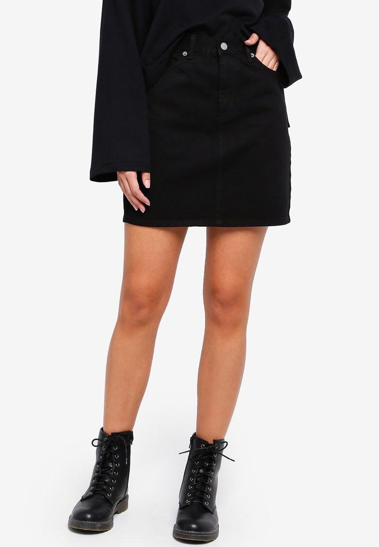 Denim Dr Bix Denim Black Skirt 4p4w7xq
