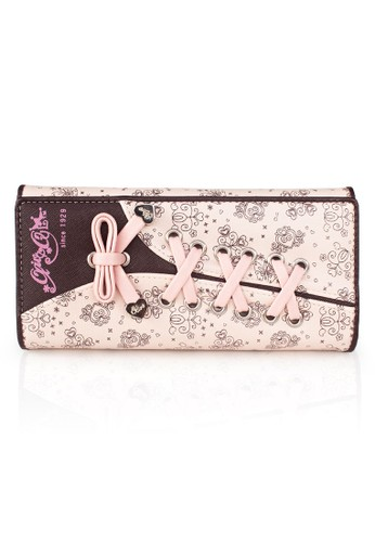 VERNYX - Woman's Olive Oyl Shoes Line Wallet DO104 - Dompet Wanita