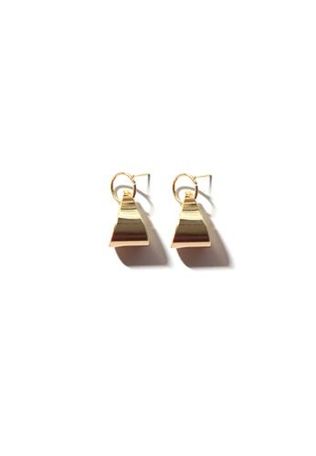 FAWNXFERN gold Ingor Teardrop Drop Earrings in Gold EC450AC7BDA2BBGS_1