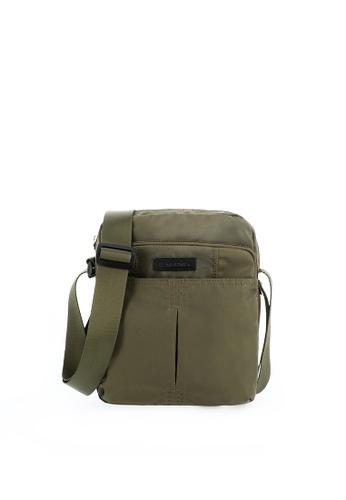 SEMBONIA green SEMBONIA Men Nylon Shoulder Bag (Green) B1AE5AC0704063GS_1
